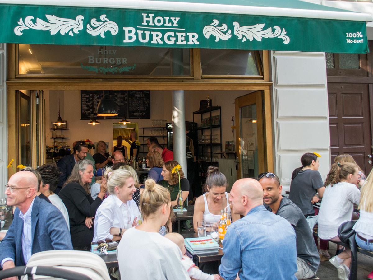 Holy Burger in Haidhausen