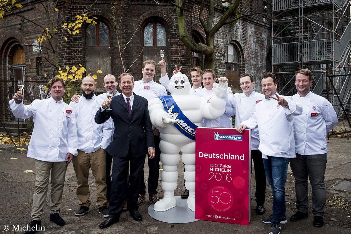 Guide Michelin Deutschland 2016 Gruppenfoto