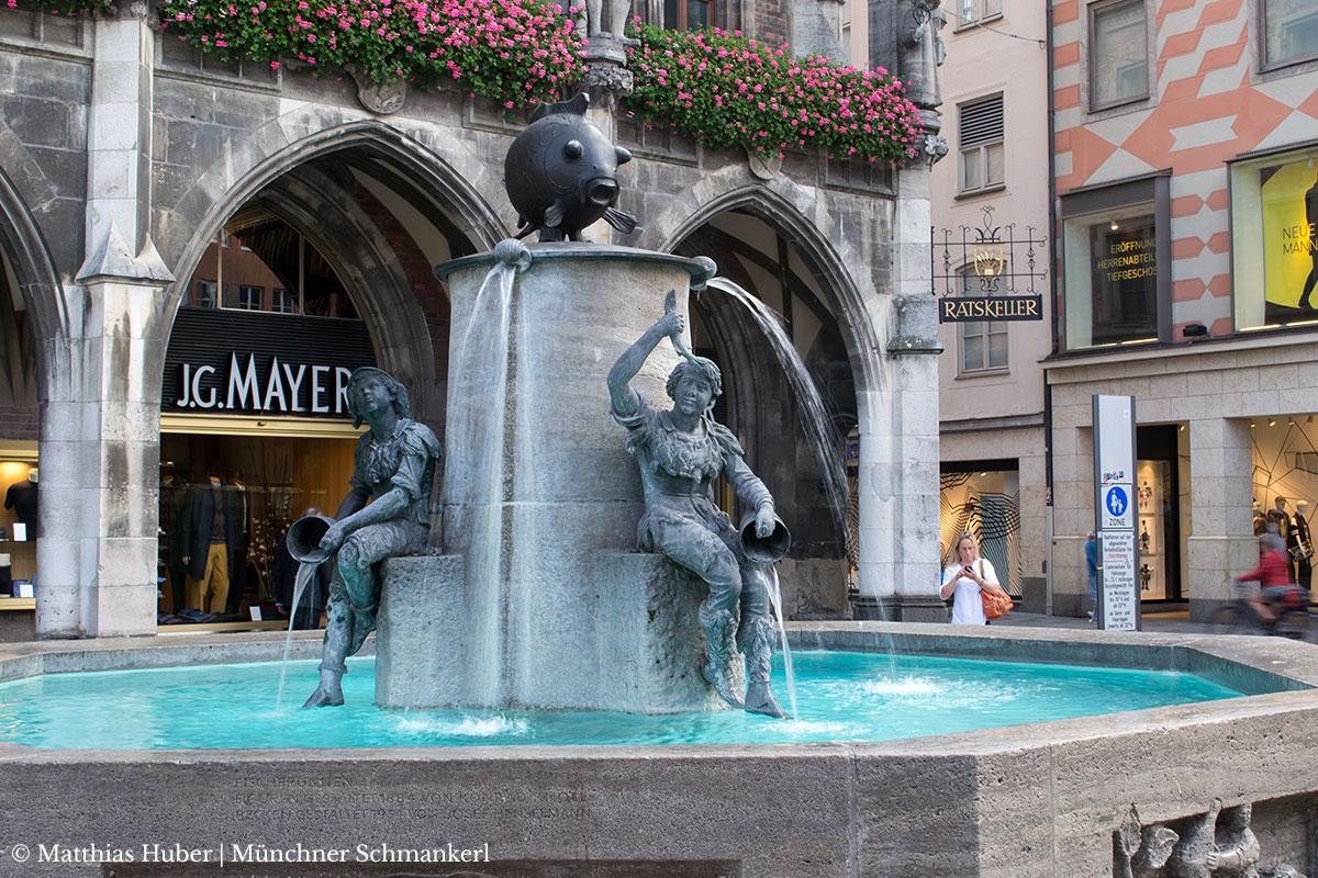 Fischbrunnen München